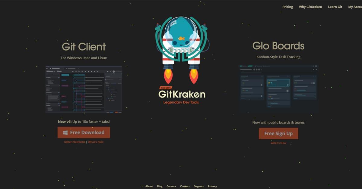 10 Công cụ hỗ trợ Lập trình viên: GitKraken