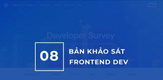 08 Bản Khảo sát Lập trình viên Frontend năm 2019