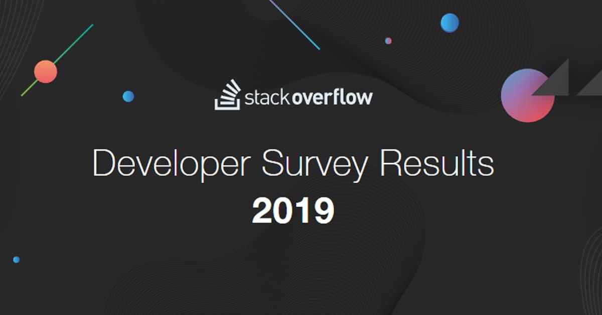 Khảo sát Lập trình viên Frontend: Khảo sát Lập trình viên của Stack Overflow