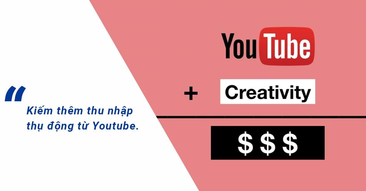 Lập trình viên có thể kiếm thêm thu nhập thụ động từ Youtube