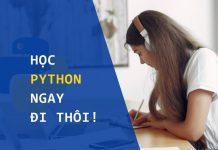 Học Python ngay đi thôi